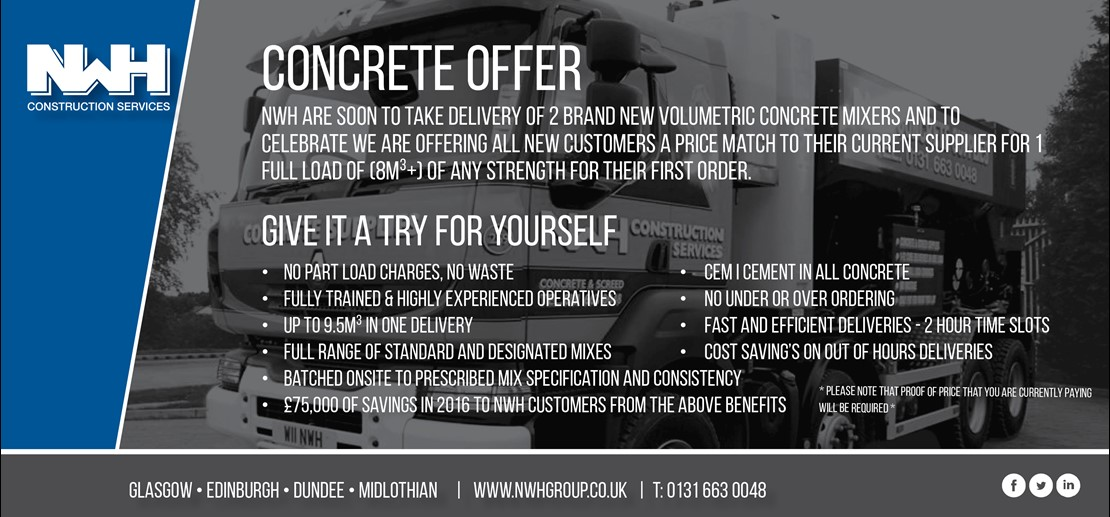 Concrete Offer - Limited time only!