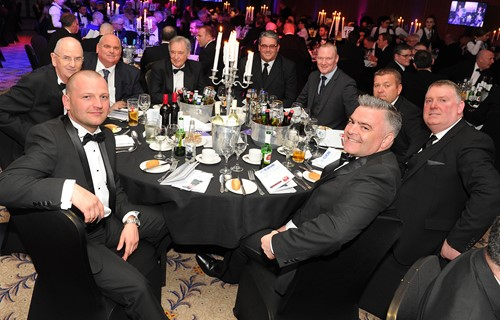 Fantastic night had by all at the CIOB Annual Dinner