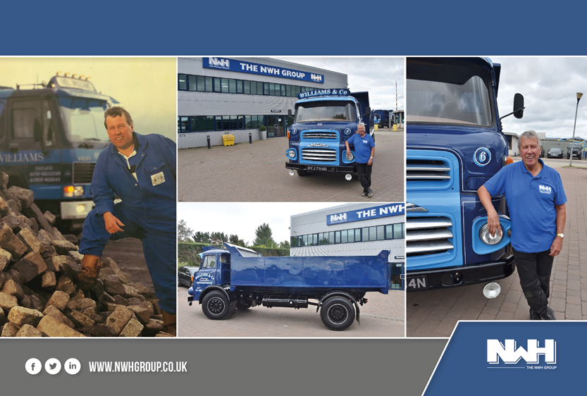 After 50+ years of services, David Williams, expresses how his love for lorries remains
