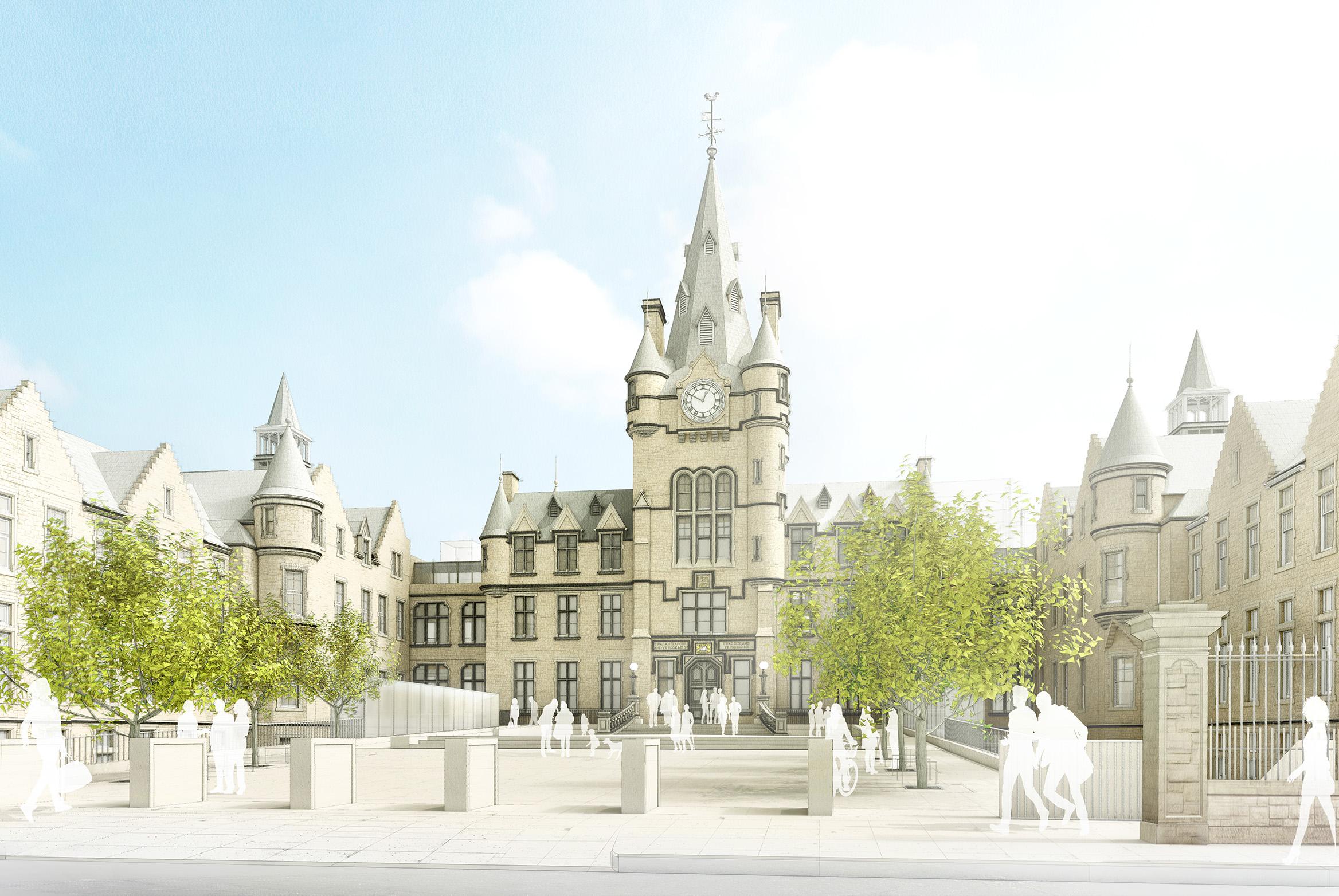 On site at Edinburgh Futures Institute