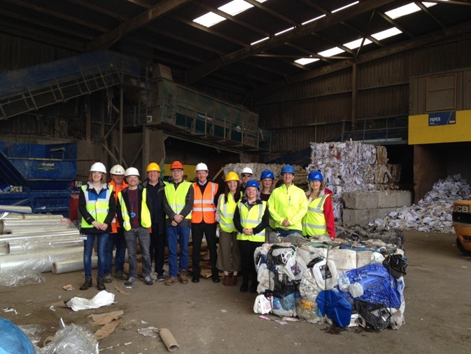 NWH Group partner with the School of Life Science Department at the University of Dundee to provide recycling education