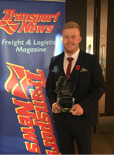 NWH Apprentice named Scotland's Top Road Transport Trainee