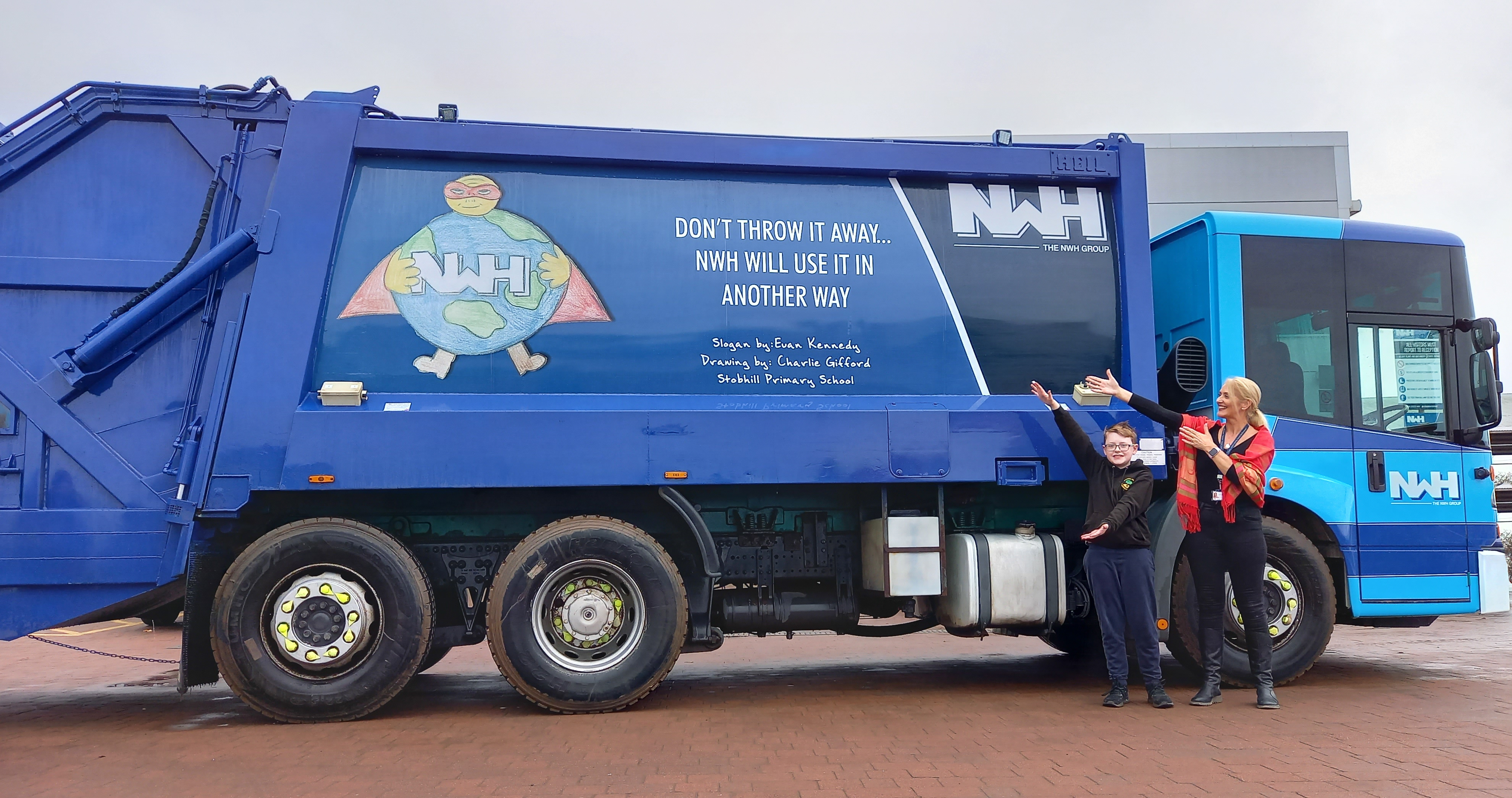 The NWH Group partners with schools to combat climate change through recycling education