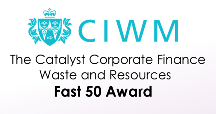 NWH Group awarded as 5th fastest growing Waste and Resources business!